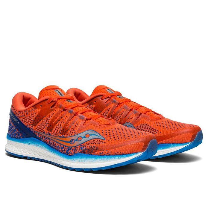Оригинальные кроссовки Saucony Freedom ISO 2 M Оранжево-Темно-синие