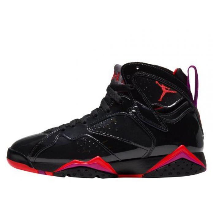 """Баскетбольные кроссовки Wmns Air Jordan 7 Retro """"Patent Leather"""" (313358-006)"""