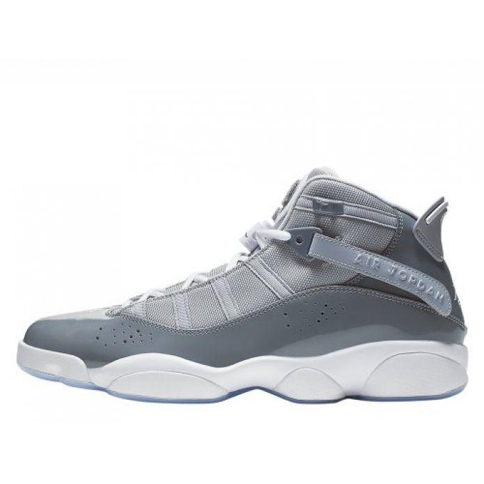 """Баскетбольные кроссовки Jordan 6 Rings """"Cool Grey"""" (322992-015)"""