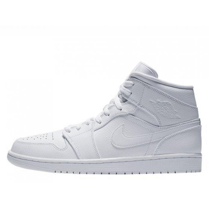 Баскетбольные кроссовки Air Jordan 1 Mid (554724-129)