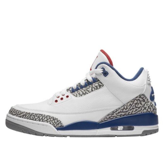 """Баскетбольные кроссовки Buty Air Jordan 3 Retro OG """"True Blue"""""""