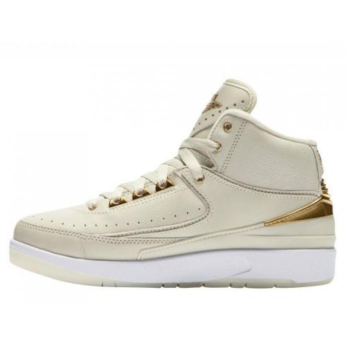 """Баскетбольные кроссовки Air Jordan 2 Retro (BG) """"Q54"""" (866034-001)"""
