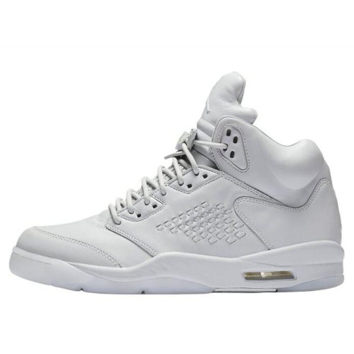 """Баскетбольные кроссовки Air Jordan 5 Retro Premium """"Pure Platinum"""" (881432-003)"""