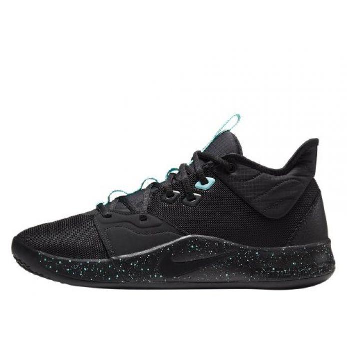 """Баскетбольные кроссовки Nike PG 3 """"Black Aqua"""" (AO2607-003)"""