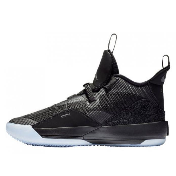 """Баскетбольные кроссовки Air Jordan XXXIII """"Utility Blackout"""" (AQ8830-002)"""