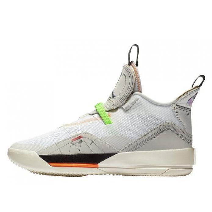 """Баскетбольные кроссовки Air Jordan XXXIII """"Vast Grey"""" (AQ8830-004)"""