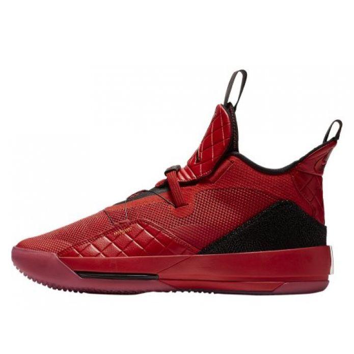 """Баскетбольные кроссовки Air Jordan XXXIII """"University Red"""" (AQ8830-600)"""