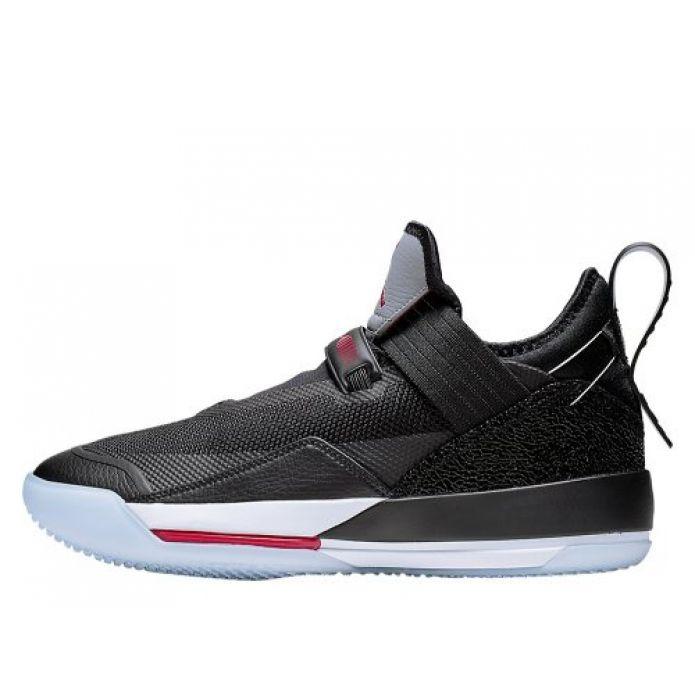 """Баскетбольные кроссовки Air Jordan XXXIII Low SE """"Black/Cement"""" (CD9560-006)"""