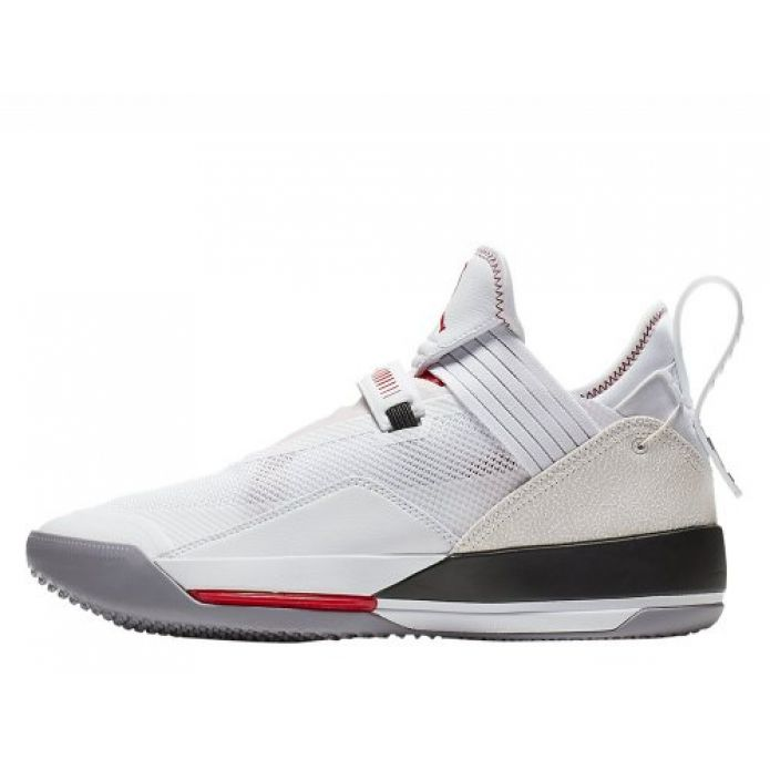 """Баскетбольные кроссовки Air Jordan XXXIII Low SE """"White/Cement"""" (CD9560-106)"""