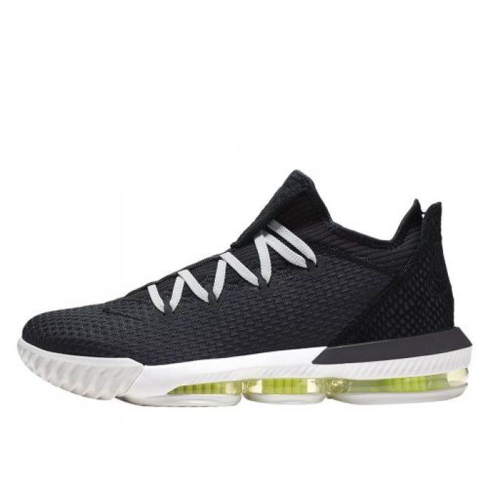 """Баскетбольные кроссовки Nike LeBron XVI Low """"Black Python"""" (CI2668-004)"""