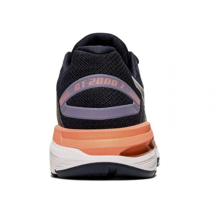 Оригинальные кроссовки ASICS GT-2000 7 W Черно-POMARAŃCZOWE