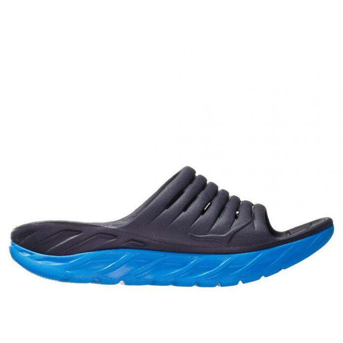 Оригинальные кроссовки Hoka Ora Recovery Slide 2 M Черно-Синие