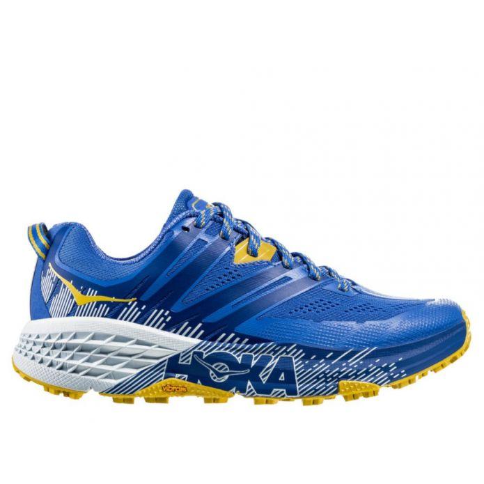Оригинальные кроссовки Hoka Speedgoat 3 W Желто-Синие