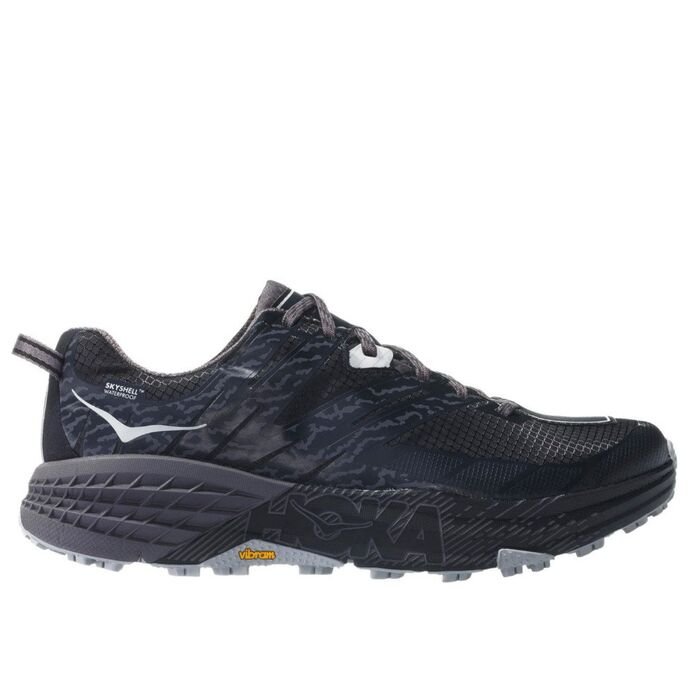 Оригинальные кроссовки Hoka Speedgoat 3 Waterproof M Серо-Черные