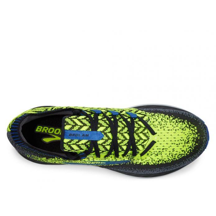 Оригинальные кроссовки Brooks Bedlam M Серо-Зеленые
