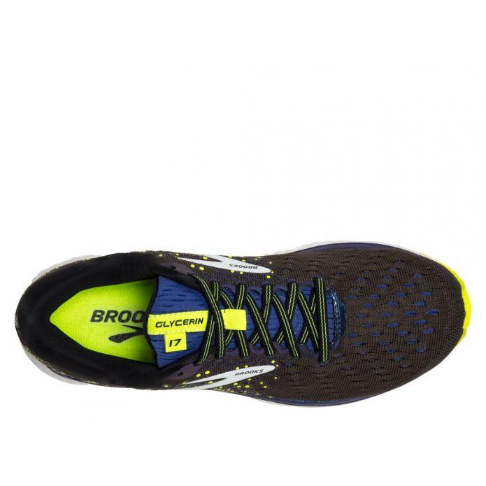Оригинальные кроссовки Brooks Glycerin 17 M Серо-Темно-синие