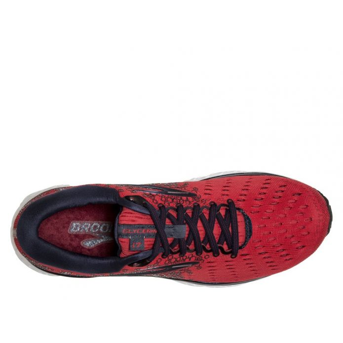 Оригинальные кроссовки Brooks Glycerin 17 M Красные