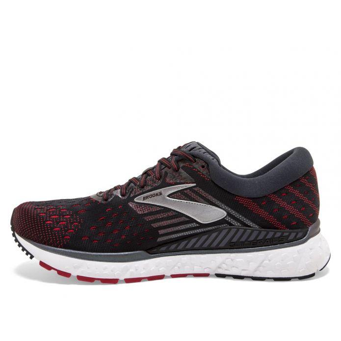 Оригинальные кроссовки Brooks Transcend 6 M Красно-Черные