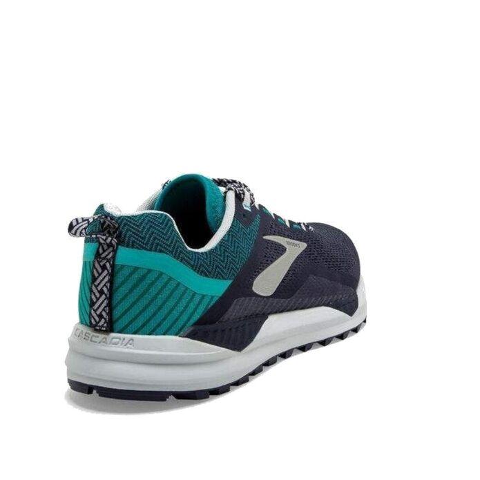 Оригинальные кроссовки BROOKS CASCADIA 14 M Navy-Зеленые