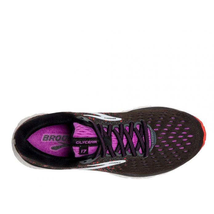 Оригинальные кроссовки Brooks Glycerin 17 W Фиолетово-Коричневые