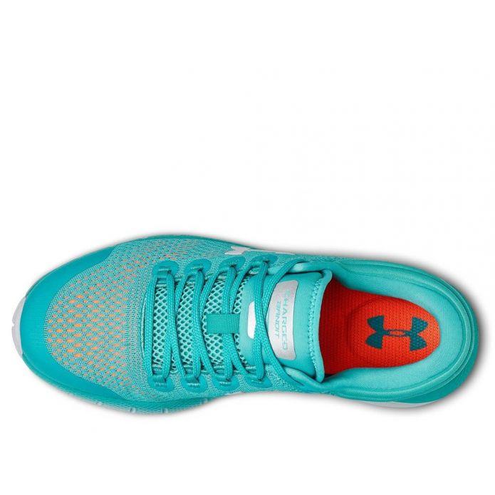Оригинальные кроссовки UNDER ARMOUR W CHARGED BANDIT 5 Голубые