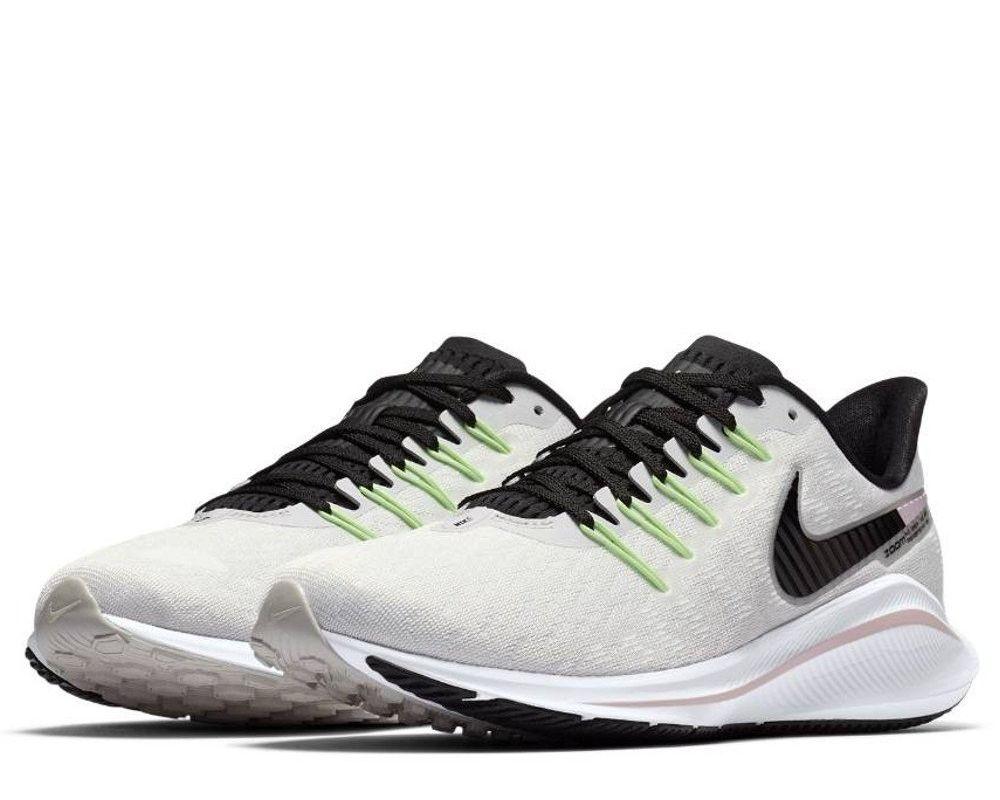 8bae7f7edbb7 Оригинальные кроссовки Nike Air Zoom Vomero 14 W Серо-Белые