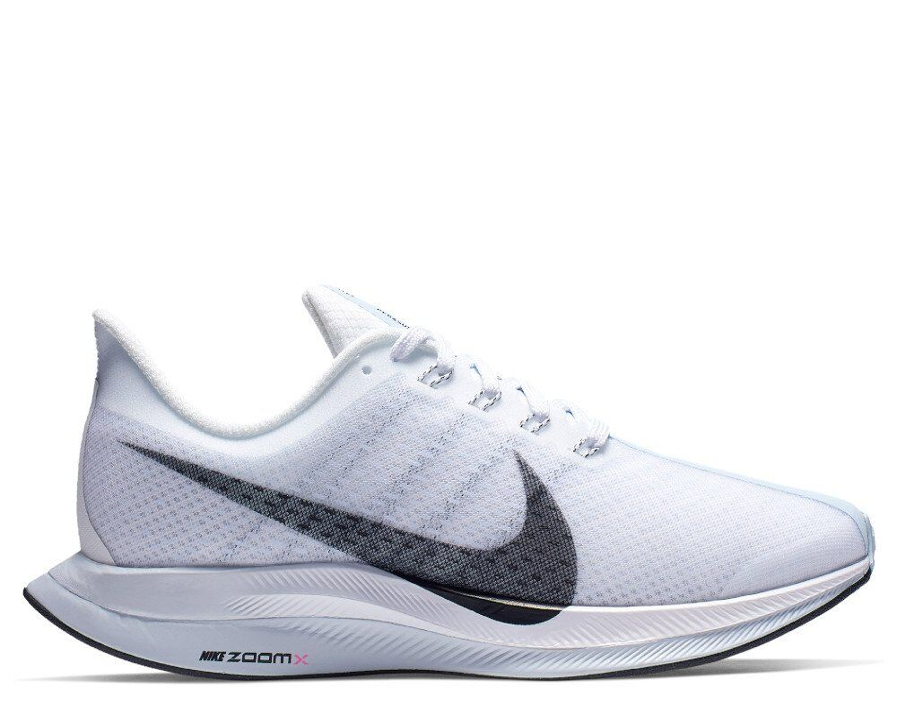 bdef7b18 Купить кроссовки для бега Nike Zoom Pegasus Turbo W Голубо-Белые в ...