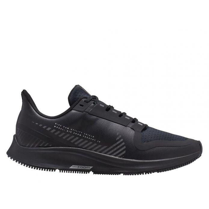 Оригинальные кроссовки NIKE AIR ZOOM PEGASUS 36 SHIELD W Черные
