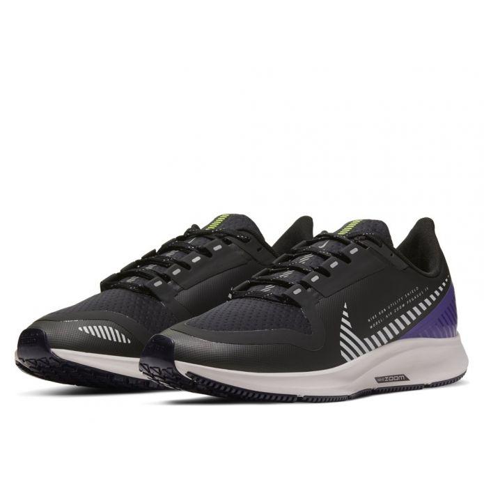 Оригинальные кроссовки NIKE AIR ZOOM PEGASUS 36 SHIELD W Черно-Фиолетовые