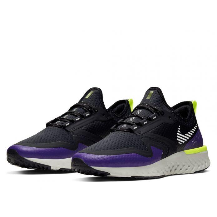 Оригинальные кроссовки ODYSSEY REACT 2 SHIELD W Черно-Фиолетовые