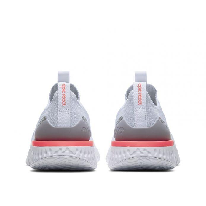 Оригинальные кроссовки NIKE EPIC PHANTOM REACT FLYKNIT W Бело-Серые