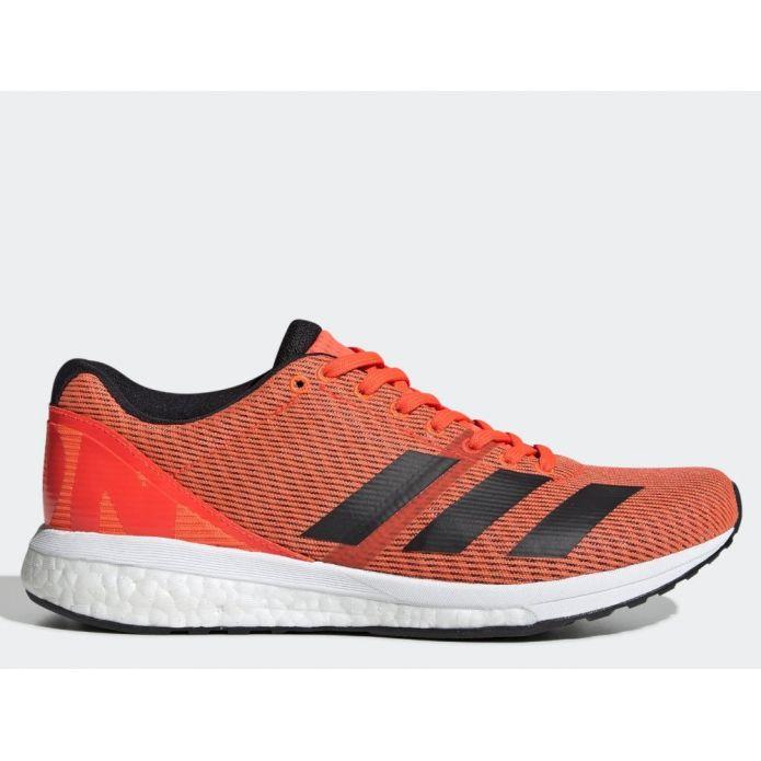 Оригинальные кроссовки adidas Adizero Boston 8 W Красно-Оранжевые