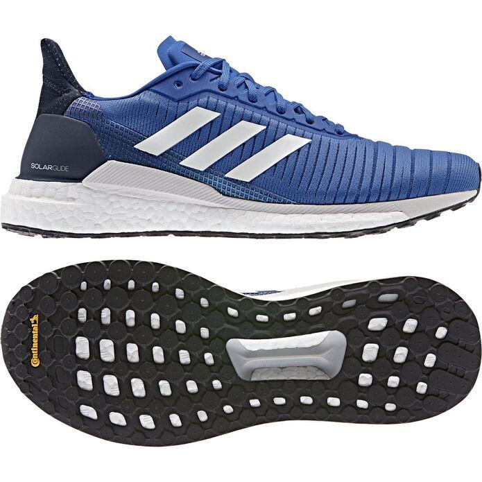 Оригинальные кроссовки adidas Solar Glide 19 M Синие