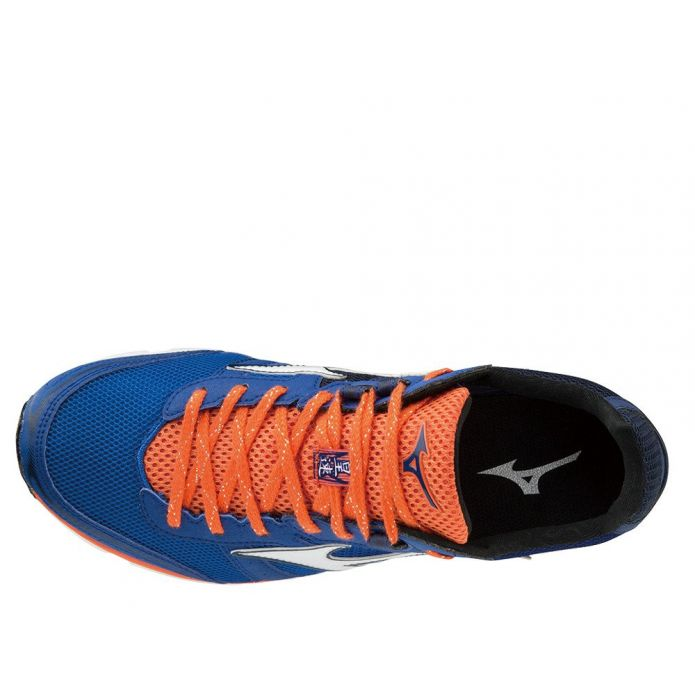 Оригинальные кроссовки Mizuno Wave Emperor 3 M Оранжево-Синие