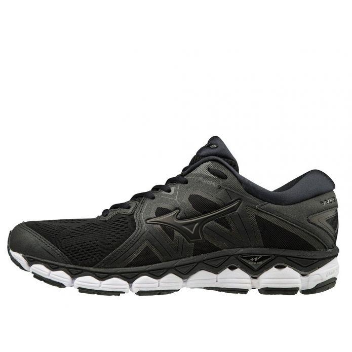 Оригинальные кроссовки Mizuno Wave Sky 2 M Графитово-Черные