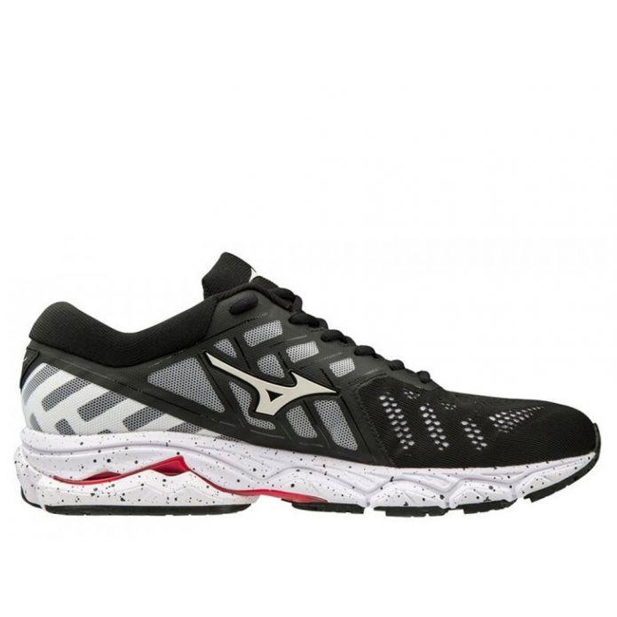 Оригинальные кроссовки Mizuno Wave Ultima 11 M Черно-Белые