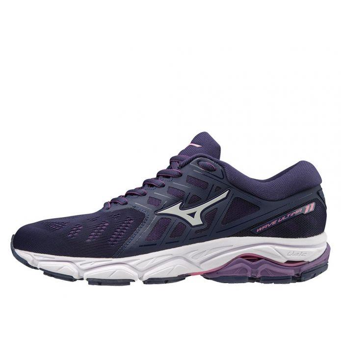 Оригинальные кроссовки MIZUNO WAVE ULTIMA 11 W Navy-Фиолетовые