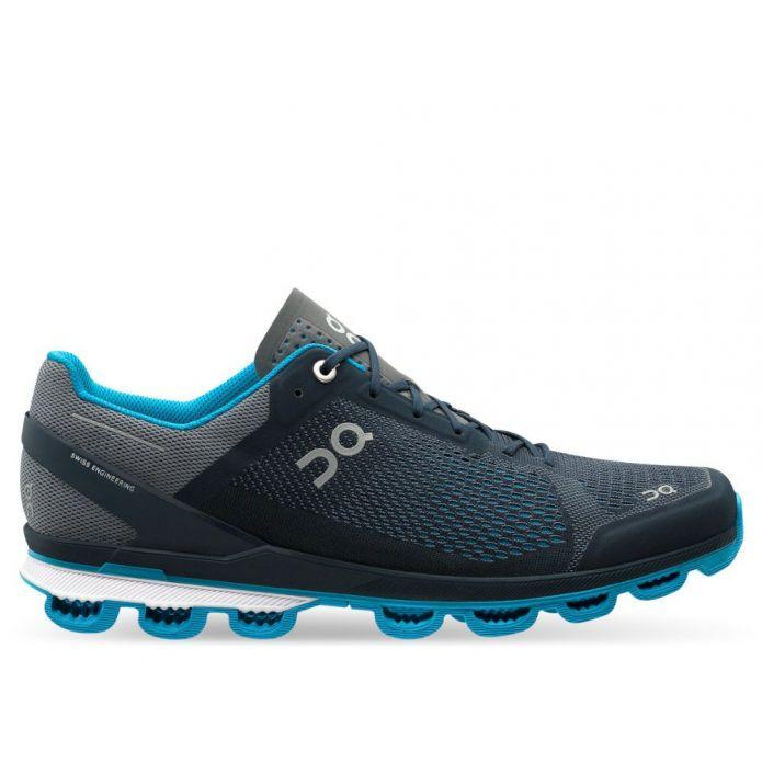 Оригинальные кроссовки On Running Cloudsurfer M Сине-Темно-серые