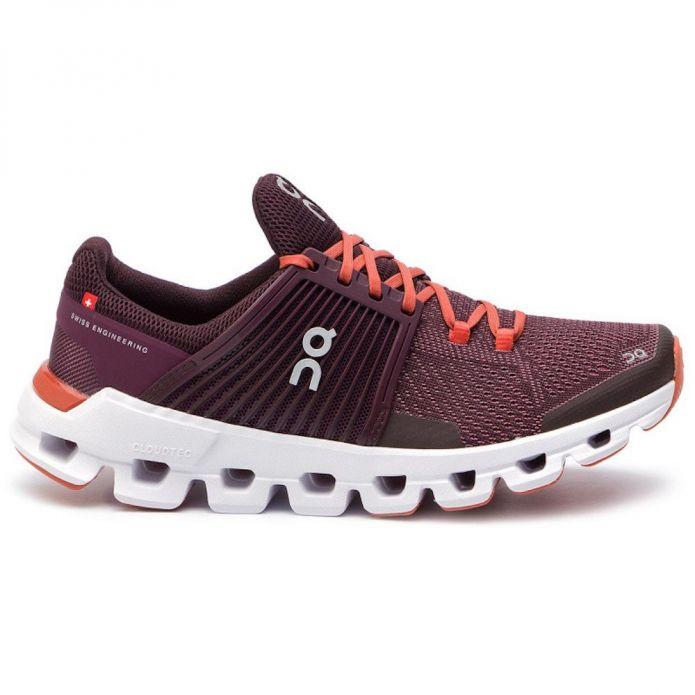 Оригинальные кроссовки  ON RUNNING CLOUDSWIFT W Бордовые