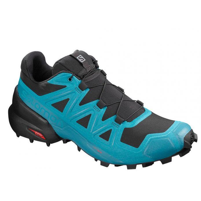 Оригинальные кроссовки Salomon Speedcross 5 M Черно-Синие