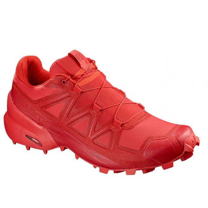 Оригинальные кроссовки Salomon Speedcross 5 W Płomienno-Красные