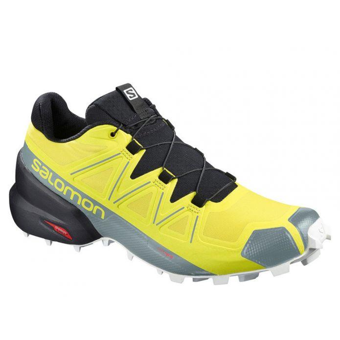 Оригинальные кроссовки Salomon Speedcross 5 M Черно-Желтые