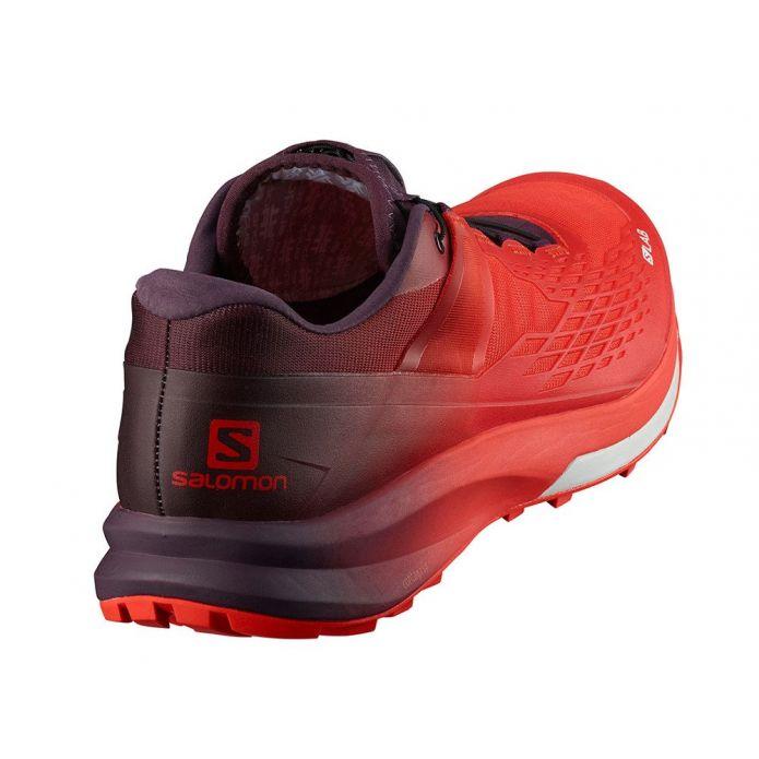Оригинальные кроссовки Salomon S-Lab Ultra 2 M Фиолетово-Красные