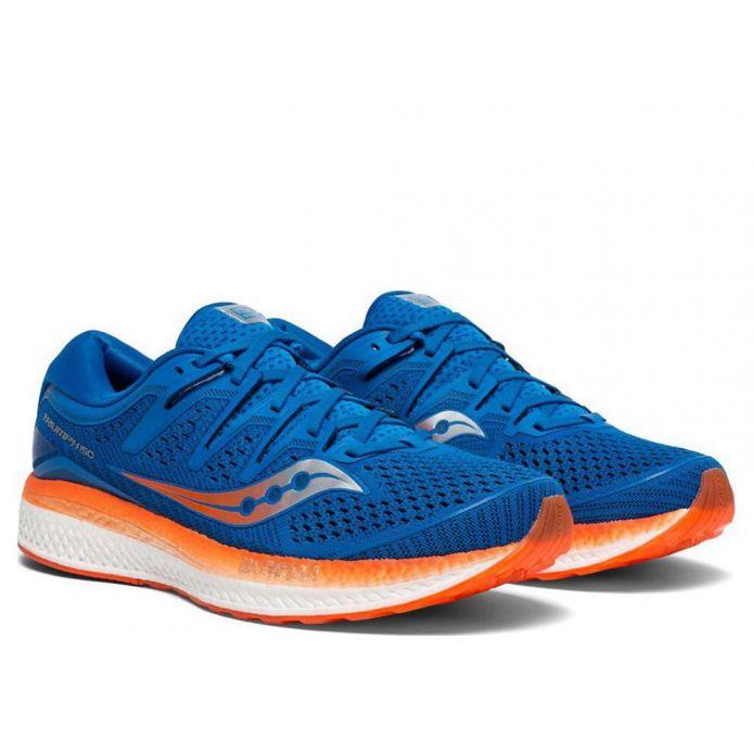Оригинальные кроссовки SAUCONY TRIUMPH ISO 5 Сине-POMARAŃCZOWE