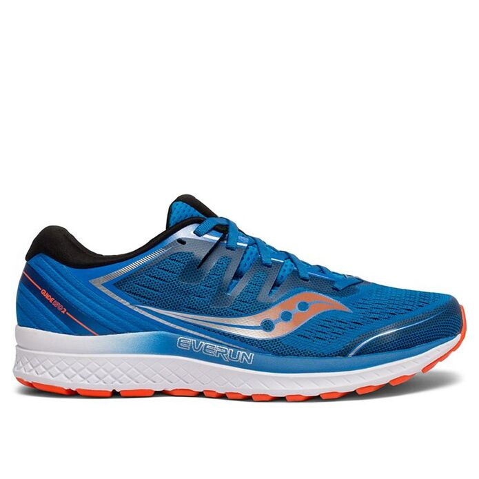 Оригинальные кроссовки SAUCONY GUIDE ISO 2 M Сине-Оранжевые