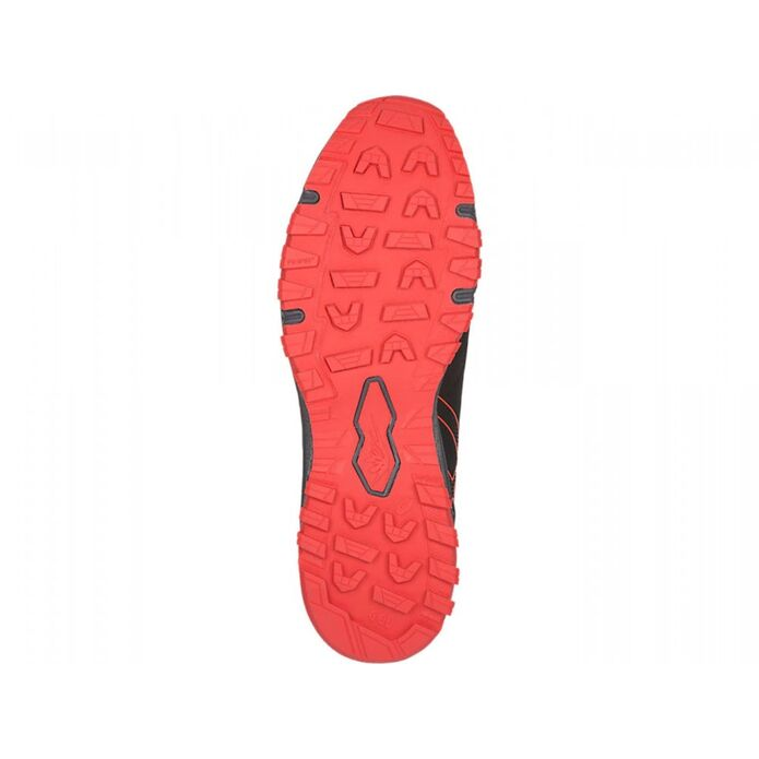 Оригинальные кроссовки ASICS GEL-FUJIRADO M Серо-Красные
