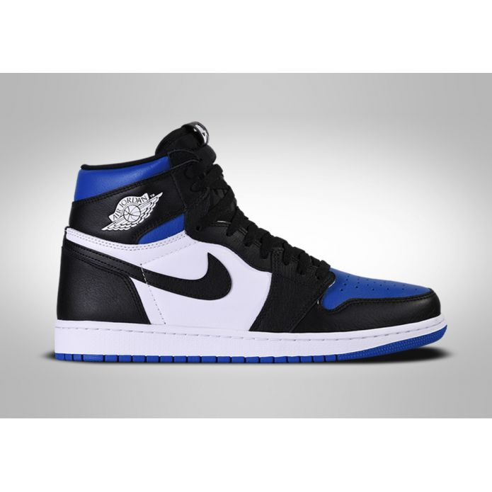 Баскетбольные кроссовки NIKE AIR JORDAN 1 RETRO HIGH OG ROYAL TOE
