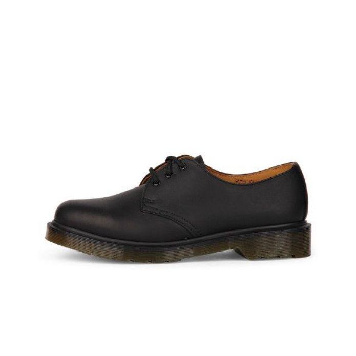Оригинальные кроссовки Dr. Martens 1461 PW Black GREASY 10078005