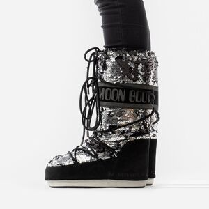 Женские Moon Boot Classic Disco 14025200 001
