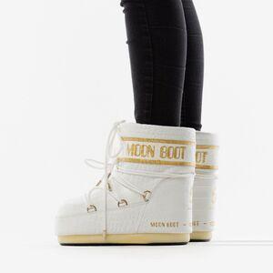 Женские Moon Boot Classic low 50° Crocodile 14089600 002
